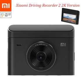 Xiaomi Recorder 2 Car DVR Kamera Mobil Ultra Clear 2K - XMMJJLY03 - Black - 1