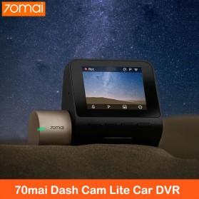 Xiaomi 70mai Midrive Dash Cam Lite Kamera Dashboard Mobil 1080P - D08 - Black