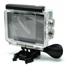 Action Camera A7 Waterproof 1080P Wide Angle Layar LCD - Black - 2