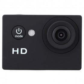 Action Camera A7 Waterproof 1080P Wide Angle Layar LCD - Black - 4