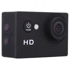Action Camera A7 Waterproof 1080P Wide Angle Layar LCD - Black - 5