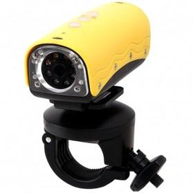 Lapara Sports Action Camera 5MP Waterproof 20M - Yellow