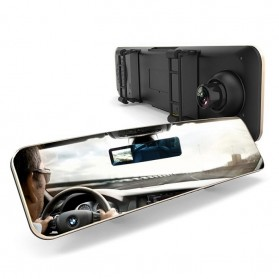 Remax Rear View Mirror Car Camera 1080P - CX-02 - Black