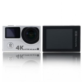 HD Action Camera - Remax Action Camera 4K with Waterproof Case - SD-02 - Silver