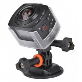 Kamera Mobil / Car DVR / Camcorder - AMKOV AMK100S Kamera Aksi Panoramic Fisheye 360 Derajat - Black