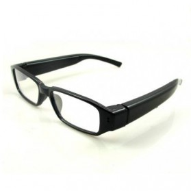 Spy Eyewear Glasses Camera Video Recorder HD 720P - Black