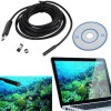 Lensa Fisheye, Lensa Wide, Lensa Macro - Kamera USB Wire Camera Endoscope Baroscope 7mm 1/9 CMOS - 009 - Black