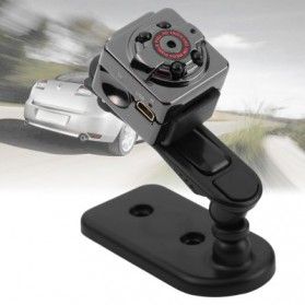 SQ8 Mini DV Camera 1080P Full HD Car DVR Aluminium - Black - 2