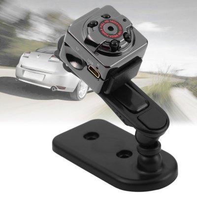 SQ8 Mini DV Camera 1080P Full HD Car DVR Aluminium - Black ...
