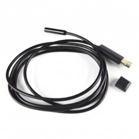Android Endoscope Camera 7mm 720p IP67 Waterproof for Smartphone and PC Laptop - Black
