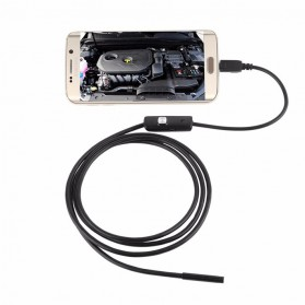Android 7mm 4cm Focal Distance Endoscope Camera 720P 2M IP67 Waterproof - Black - 4