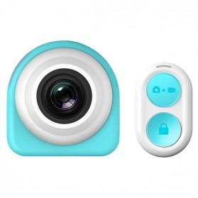 Kamera Mini Spy DVR 1080P dengan Remot Kontrol - Blue
