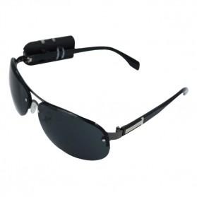 Kacamata dengan Klip Kamera Mini DV 720P - Black