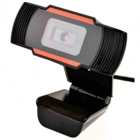 Webcam HD 12MP dengan Mic - SV022380 - Black