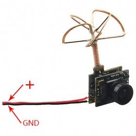 FPV Combo 3 in 1 600TVL Mini Camera 5.8GHz 40CH 25Mw - 1