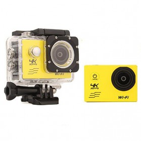 Action Camera Waterproof 4K WiFi - V3 - Black - 4
