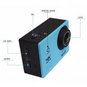 Action Camera Waterproof 4K WiFi - V3 - Black - 7