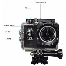 Action Camera Waterproof 4K WiFi - V3 - Black - 8