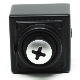 Super Hidden Screw Mini DV Camera Sony CCD 420TVL - Black