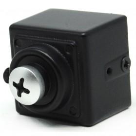 Super Hidden Screw Mini DV Camera Sony CCD 420TVL - Black - 2