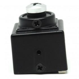 Super Hidden Screw Mini DV Camera Sony CCD 420TVL - Black - 3