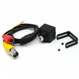 Super Hidden Screw Mini DV Camera Sony CCD 420TVL - Black - 4