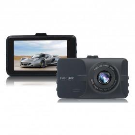 Kamera DVR Mobil Wide Angle 1080P - A6 - Black