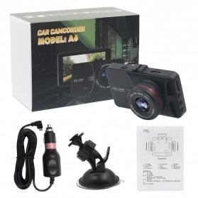 Kamera DVR Mobil Wide Angle 1080P - A6 - Black - 10