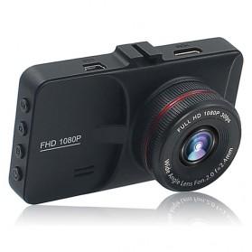 Kamera DVR Mobil Depan Belakang Wide Angle 1080P - A6 - Black - 2