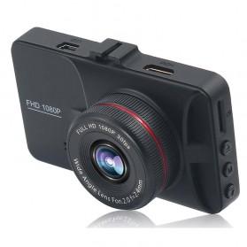 Kamera DVR Mobil Depan Belakang Wide Angle 1080P - A6 - Black - 3