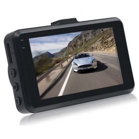 Kamera DVR Mobil Depan Belakang Wide Angle 1080P - A6 - Black - 4