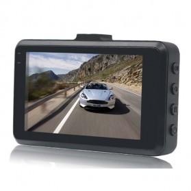 Kamera DVR Mobil Depan Belakang Wide Angle 1080P - A6 - Black - 5