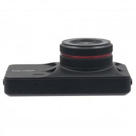 Kamera DVR Mobil Depan Belakang Wide Angle 1080P - A6 - Black - 7