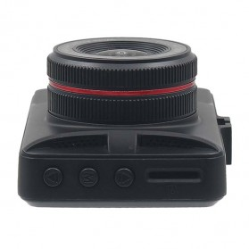 Kamera DVR Mobil Depan Belakang Wide Angle 1080P - A6 - Black - 8