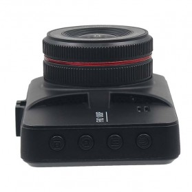 Kamera DVR Mobil Depan Belakang Wide Angle 1080P - A6 - Black - 9