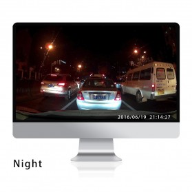 Kaca Spion DVR Kamera 1080P 4.3 Inch Display - HS900A - Black - 9