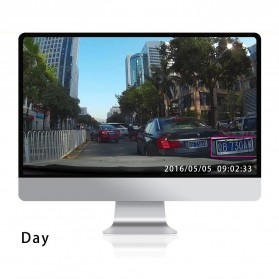 Kaca Spion DVR Kamera 1080P 4.3 Inch Display - HS900A - Black - 10