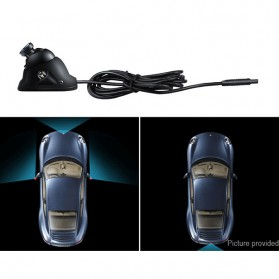 Yoelbaer Kamera Mobil Blindspot with LED Light - GB-T-15412 - Black