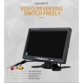 Yoelbaer Layar Monitor Mobil TFT LCD 7 Inch - C-T703 - Black - 5