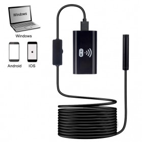 Kamera Endoscope WiFi Waterproof HD 8.0mm 720P 2M - F99 - Black - 7