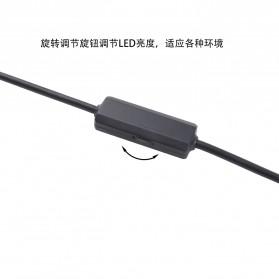 Kamera Endoscope WiFi Magic Box Waterproof 5.5mm 480P 3.5M - F100 - Black - 3