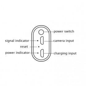 Kamera Endoscope WiFi Waterproof HD 8.0mm 1200P 2M - F130 - Black - 3