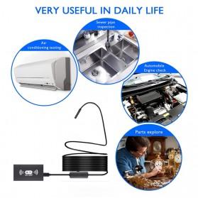 Kamera Endoscope WiFi Waterproof HD 8.0mm 1200P 2M - F130 - Black - 10