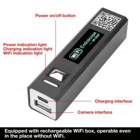 Jingleszcn Kamera Endoscope WiFi Waterproof HD 8.0mm 1200P 2M - F150 - Black - 4