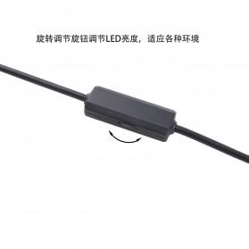 Kamera Endoscope WiFi Waterproof HD 8.0mm 1200P 3.5M - F140 - Black - 5