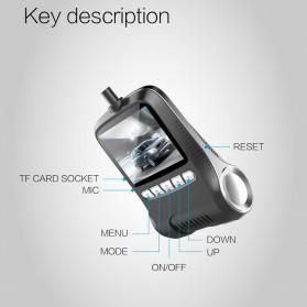 Car Dash Camera WiFi DVR Mobil LCD 2 Inch Night Vision 1080P - RS501 - Black - 5