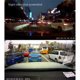 Car Dash Camera WiFi DVR Mobil LCD 2 Inch Night Vision 1080P - RS501 - Black - 6
