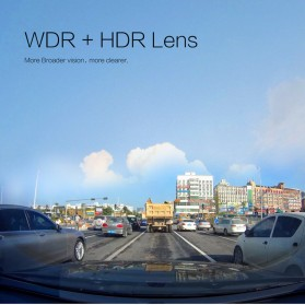 Car Dash Camera WiFi DVR Mobil LCD 2 Inch Night Vision 1080P - RS501 - Black - 8
