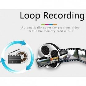 Kaca Spion Rear View DVR Dual Kamera 1080P 5 Inch Display - J001 - Black - 6