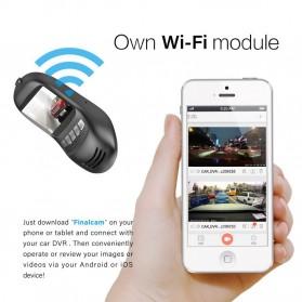 Car Dash Camera WiFi DVR Mobil LCD 2 Inch Night Vision 1080P - RS502 - Black - 7